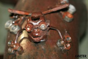 nuts and bolts frog by Rights21