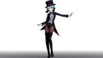 Magician Miku Almost done? by Syazwan133