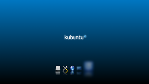 Kubuntu Ksplash by Hyarmenadan