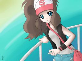 Pokemon Trainer White by FalsePretence-xx