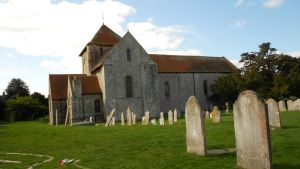Portchester church by Kayleigh-Kaz