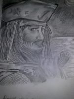 Captain Jack Sparrow by Ladygravite