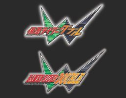 Kamen Rider Double Romanized Logo by TRice01