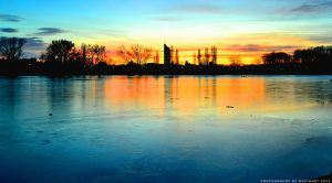 Icy Sunset by Havidor