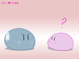 Dango, Dango, Dango, Dango by kit-y