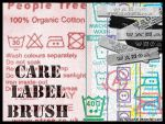 Care Label Brush by nutbucket