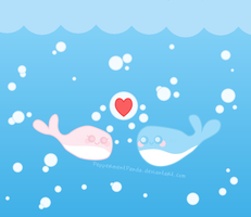 Whale Love by PeppermentPanda