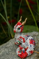 Gin Rin Sanke Koi Eastern Dragon by The-SixthLeafClover