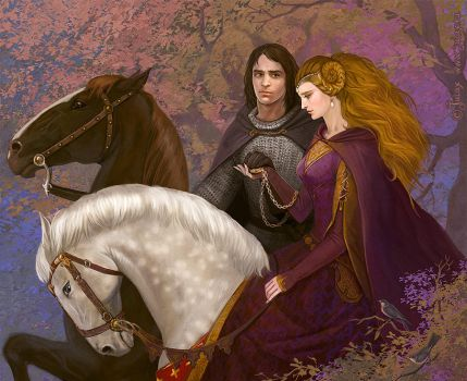 Guinevere and Lancelot by CG-Warrior