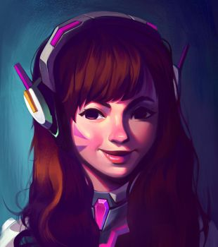 D.VA: what a cutie by mkjoeee