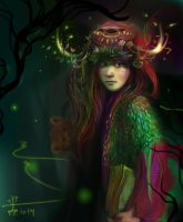 into the woods by Dina-Tukhvatulina