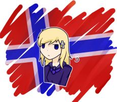 Fem!Norway by BlueFlamesOfSatan