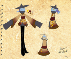 Kimono Design - For Wysp by Penny-Forest