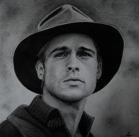 Brad Pitt by WSpower