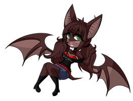 : Bat G i r l: by BubonicPlague-Duke