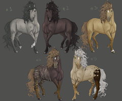 ADOPTABLESS batch one by Eagle-Cry-Designs