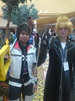 Roxas and Roxas OC2010 by L-Angelo15