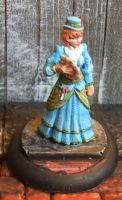 Reaper: Victorian Lady Miniature (converted) by JordanGreywolf
