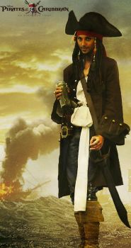 Captain Jack Sparrow by Ellwell