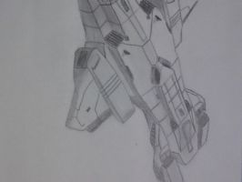 sketched pelican dropship by SomethingWild7
