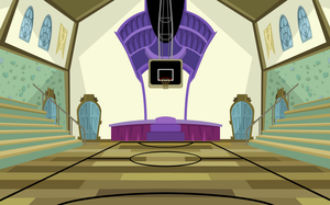 Monster High Gymnasium Background by chunk07x