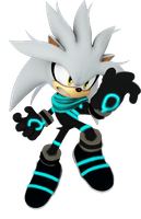 Silver Sonic Boom Style (Version 2) by Silverdahedgehog06