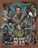 The Walking Dead  (2014) by scotty309