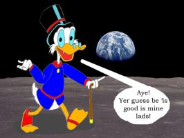 How are you alive Uncle Scrooge? by Trey-Vore