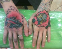 Hand Tattoo's by DevilJack28