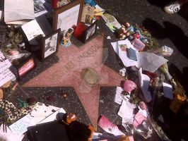 Hollywood Walk Of Fame - MJ by jlp319