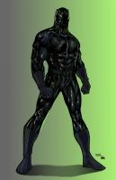 The Black Panther by turbosuo