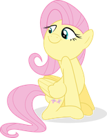 Fluttershy - [Pride] by Guillex3