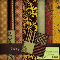 Sandy -paper street designs by paperstreetdesigns