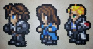 Final Fantasy 8 Perler by IAmArkain