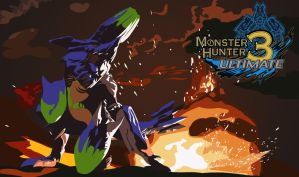 Monster Hunter 3 Ultimate- Brachydios by RaijiNinja