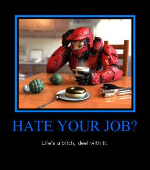 hate your job? by babyangle23