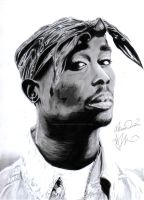 Tupac Amaru Shakur by Bring-the-Pain40