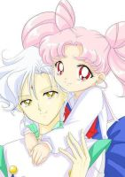 Chibiusa and Helios :3 by Angel-Melody35