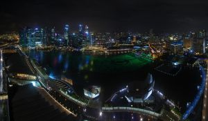 Skypark's Night View by nuic