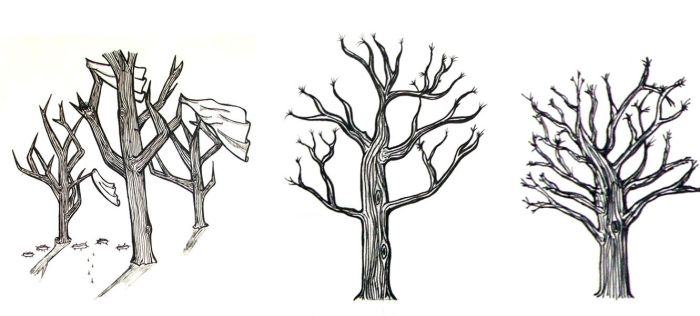 Trees by snowb0red