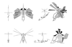 MLP Flying Machines Comparison by deathaura40s