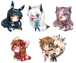 :CM+CP: chibis, chibis everywhere :P by DesireeU