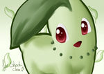 Pokemon Painting- Chikorita by Winoa