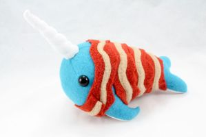 Bacon Wrapped Narwhal by BeeZee-Art