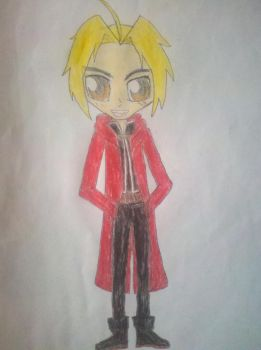 Edward Elric Sketch by Fairmontrainer