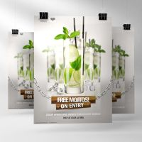 Drinks Ad Poster Template PSD Vol 2 by quickandeasy1