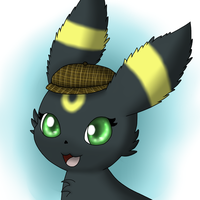 Gift: Noel the Umbreon by DreamyNormy