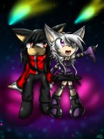 Shooting Stars .:contest:. by ShiroStrom