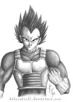Vegeta - Dragon Ball Z by deboratsuki