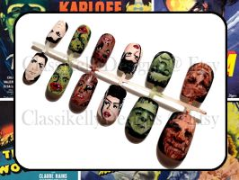Classic Horror Nail Set by Classikelly